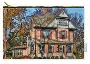 House - I Want That Big Pink House Carry-all Pouch by Mike Savad