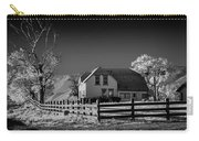 House And Cottonwoods Carry-all Pouch