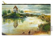 House By A Pond Carry-all Pouch