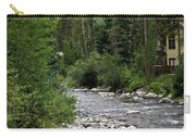 House By The Stream In Vail 1 Carry-all Pouch