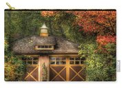 House - Classy Garage Carry-all Pouch by Mike Savad
