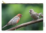 House Finch Courtship Carry-all Pouch