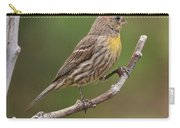 House Finch With Yellow Breast 1  Carry-all Pouch