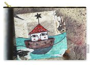House In The Sea Carry-all Pouch
