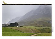 House On A Hill In The Mist Carry-all Pouch