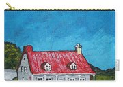 House On Ile D'orleans Carry-all Pouch