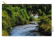 House On Margaree River Carry-all Pouch