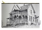 House Virginia City Montana Carry-all Pouch