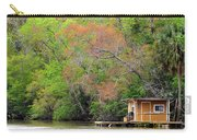 Houseboat On The Apalachicola River Carry-all Pouch