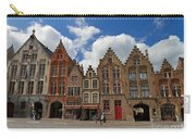 Houses Of Jan Van Eyck Square In Bruges Belgium Carry-all Pouch
