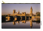 Houses Of Parliament With Westminster Bridge. Carry-all Pouch