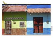 Houses On Street In Leon, Nicaragua Carry-all Pouch