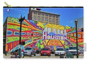 Houston, Inspired, Hip, Tasty, Funky, Savvy Carry-all Pouch