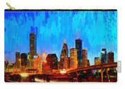 Houston Skyline 102 - Pa Carry-all Pouch