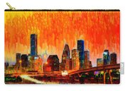 Houston Skyline 116 - Pa Carry-all Pouch