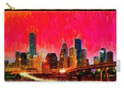 Houston Skyline 117 - Pa Carry-all Pouch
