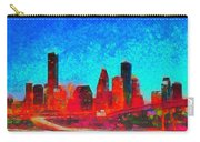 Houston Skyline 131 - Pa Carry-all Pouch