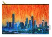 Houston Skyline 81 - Pa Carry-all Pouch