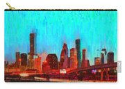 Houston Skyline 87 - Pa Carry-all Pouch