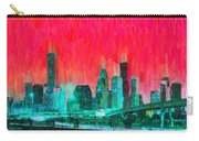 Houston Skyline 91 - Pa Carry-all Pouch