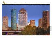 Houston Texas Skyline At Dusk Carry-all Pouch
