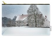 Hovdala Castle Main House In Winter Carry-all Pouch
