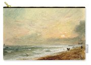 Hove Beach Carry-all Pouch by John Constable