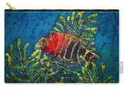 Hovering - Red Banded Wrasse Carry-all Pouch