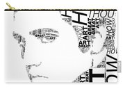 How Great Thou Art Elvis Wordart Carry-all Pouch