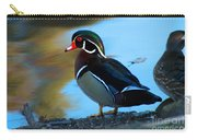 How Much Wood Could A Wood Duck Chuck Carry-all Pouch