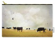 How Now Black Cow Carry-all Pouch