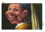 Howdy With A Pearl Earring Carry-all Pouch
