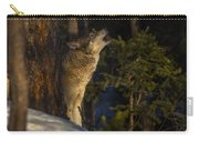 Howl In The Woods Carry-all Pouch