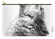 Howling Timber Wolf Carry-all Pouch
