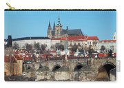 Hradcany - Cathedral Of St Vitus And Charles Bridge Carry-all Pouch