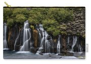 Hraunfossar In The Gloom Carry-all Pouch