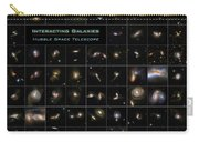 Hubble Galaxy Poster Carry-all Pouch