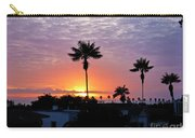 Hued Sunset  Carry-all Pouch