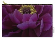 Huge Magenta Peony Carry-all Pouch