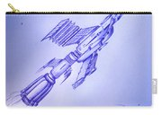 Huge Space Shuttle. In Antiworld Carry-all Pouch