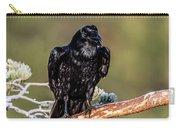 Huginn The Raven Carry-all Pouch