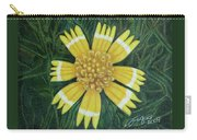 Huisache Daisy Carry-all Pouch