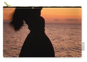 Hula At Sunset Carry-all Pouch