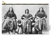 Hula Dancers, C1875 Carry-all Pouch