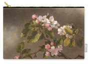 Hummingbird And Apple Blossoms Carry-all Pouch