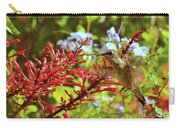 Hummingbird And Firespike Carry-all Pouch