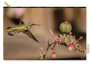 Hummingbird And Red Yucca Carry-all Pouch