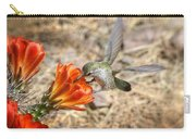 Hummingbird And The Hedgehog  Carry-all Pouch