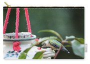 Hummingbird At Sunrise 1st Sip Carry-all Pouch
