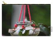 Hummingbird At Sunrise Peek A Boo Carry-all Pouch